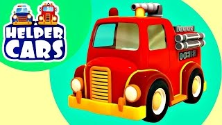 Lehrreicher Cartoon - Rettungsfahrzeuge - Teil 4 - Der Spielplatz