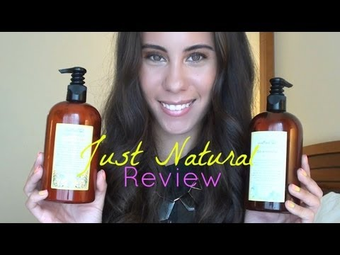 Review on Just Natural Organic Hair Care!
