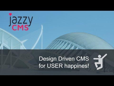Jazzy CMS - Desgin Driven Content Management System w/Bootstrap & Rails