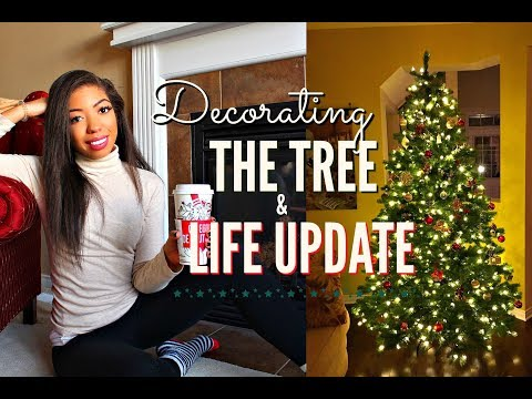 DECORATING THE CHRISTMAS TREE + LIFE UPDATE Q&A: Dating,  Confidence, Moving Out? | VLOGMAS DAY 10