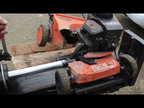 Lawnmower won't start?? Try this simple solution...