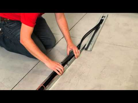 Belt/Chain Drive Opener Installation (Step 1)