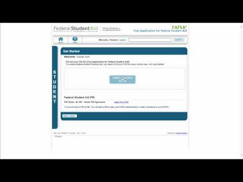 FAFSA walkthrough part 1: Account setup