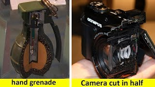 Download Amazing Photos Of Everyday Things Cut in Half Video