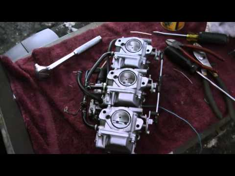 Fixing my Yamaha 50hp 2 Stroke Outboard Motor