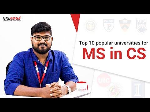 MS in US: Top 10 popular MS universities for CS || MS in Computer Science || Top 10 series