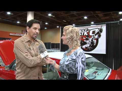 Kimber Leigh interviews Enzo Treppa at AZFAME 3/12/2011