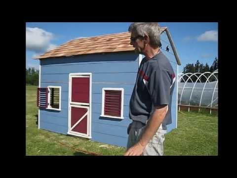 Larger 8x10 playhouse assembly