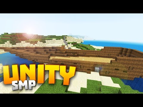Minecraft Realms! - Unity SMP S2 Ep. 2 - SHIPWRECKED!