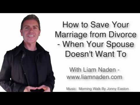 How to Save Your Marriage from Divorce - When Your Spouse Doesn't Want To