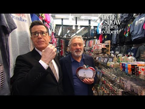 Stephen Tries To Pick The Perfect New York Gift For Robert De Niro