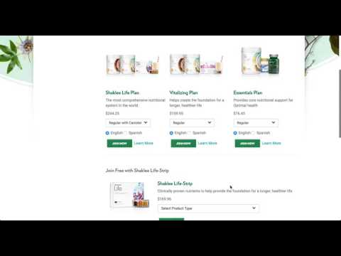 How to Join Shaklee for Free with Shaklee Products
