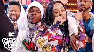 DaBaby & B. Simone Hold Each Other Down During This 🔥 Wildstyle Battle | Wild 'N Out