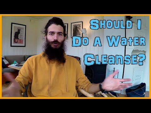 CAN YOU CLEANSE THE BODY BY DRINKING WATER?