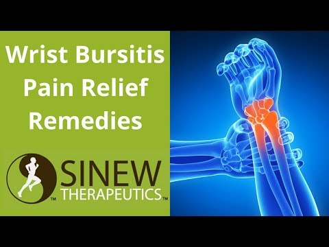 Wrist Bursitis Pain Relief Remedies
