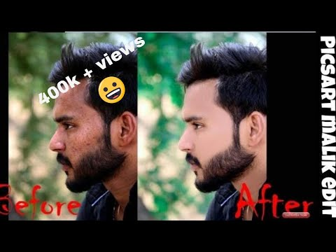 Clean face + Hide pimples + Make smart face + editing in Picsart | Picsart editing tutorial