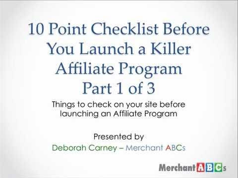 Training to Make Your Website Convert Better So Affiliates Will Promote You
