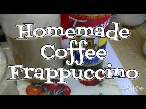 Homemade Coffee Frappuccino!  Starbucks Copycat!  Noreen's Kitchen