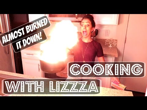 ALMOST BURNT IT DOWN!! COOKING WITH