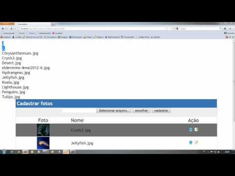 Renomear arquivos usando php jquery parte 3