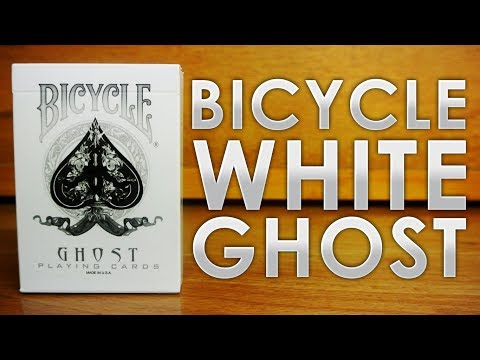 Deck Review - White Ghost Deck Ellusionist