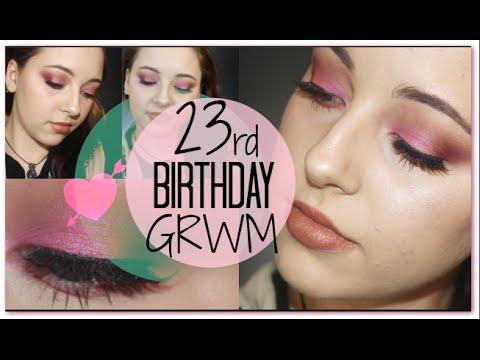 GRWM 23rd Birthday - Green Beauty