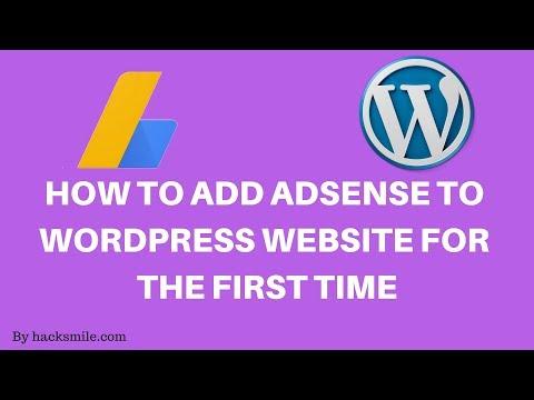 UPDATE: How to add Adsense Verification code to wordpress website
