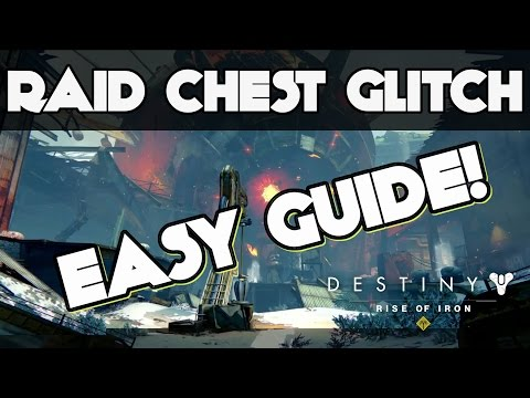 Destiny Raid Glitch! How to Get All Chests Without Killing Bosses SOLO - Easy Guide Wrath HEROIC