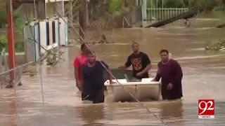 "Hurricane ""Maria"" killed upto 25 people in Carribean islands - 23 September 2017 - 92NewsHDPlus"