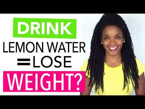 Drink Lemon Water to Lose Weight?