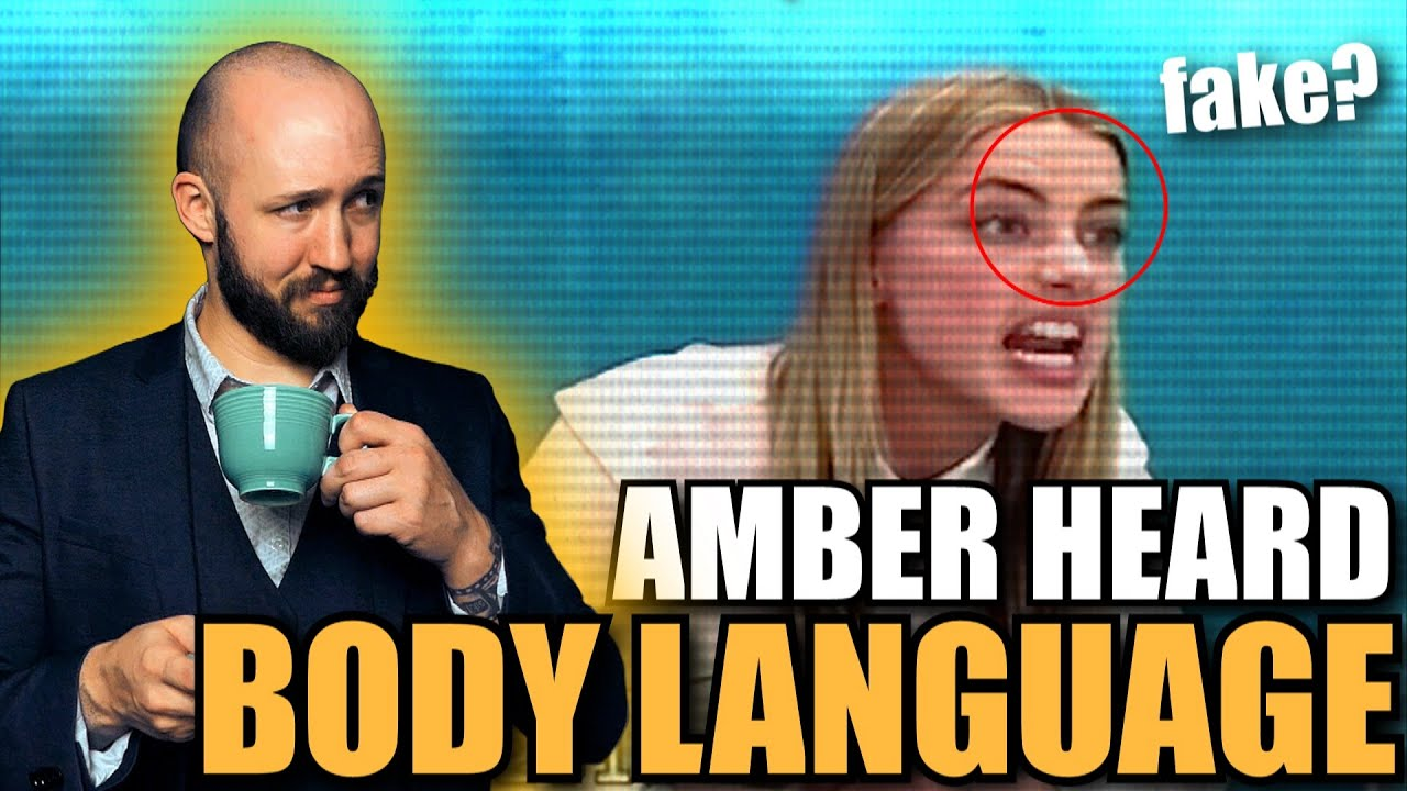Body Language Analyst REACTS to Amber Heard's CRINGE Deposition | Faces Episode 15