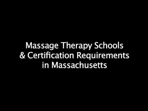 Massage Therapy Schools & Certification Requirements in Massachusetts