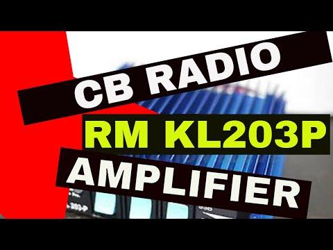 RM KL203P - CB Pre-Amp/Amplifier