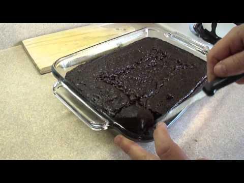 Black Bean Blender Brownies (Gluten Free)