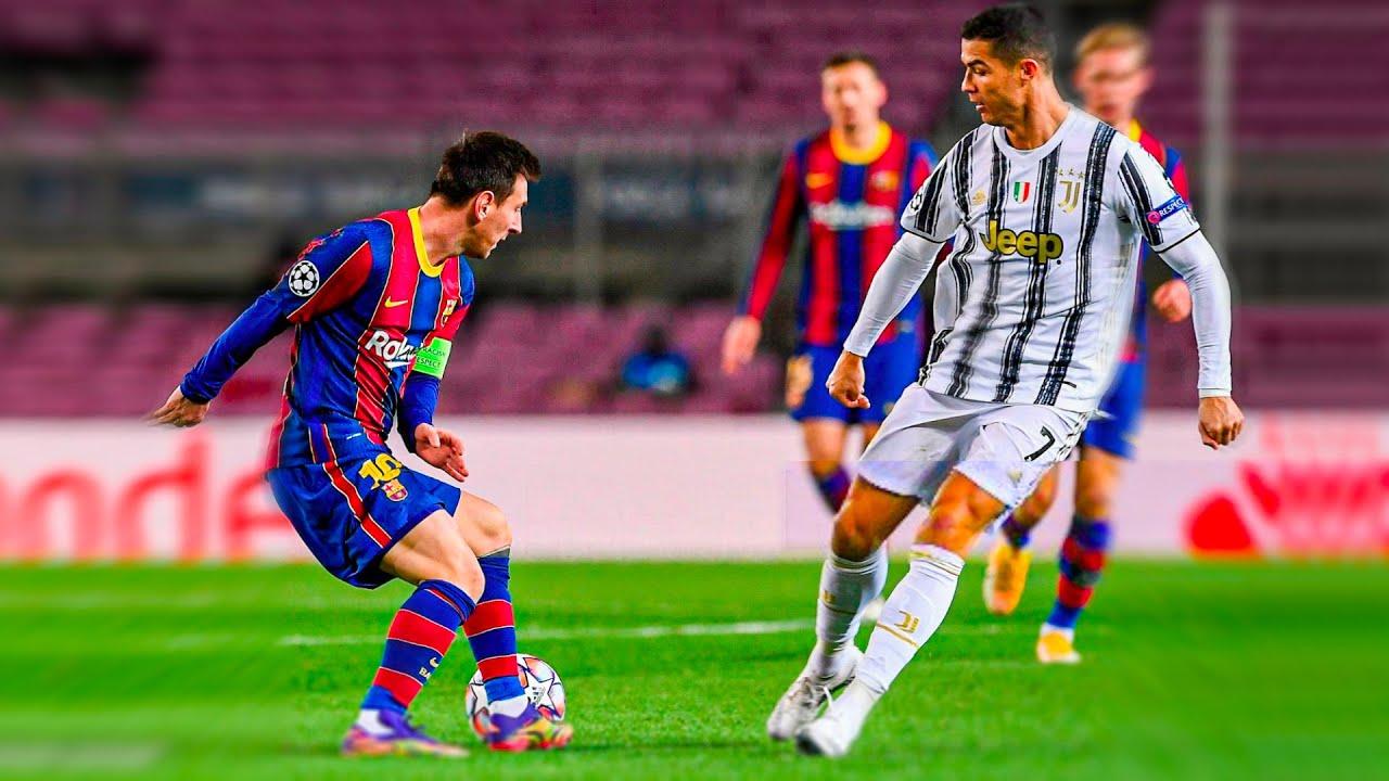 Lionel Messi Humiliating Cristiano Ronaldo !