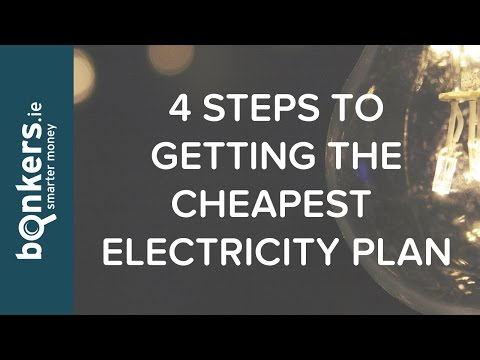 bonkers.ie TV Ep36: 4 Steps to Getting the Cheapest Electricity Plan Available