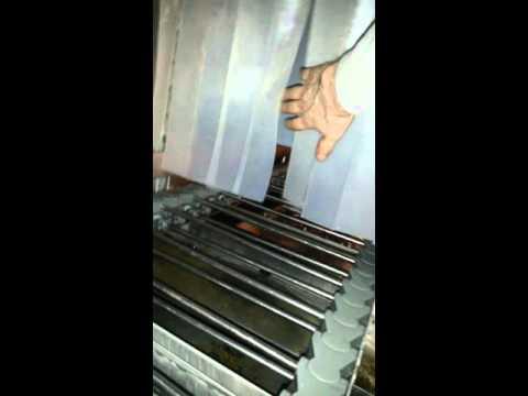Continous Industrial Steam Washing Machine, part 2