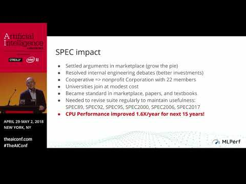 MLPerf: A Benchmark Suite for Machine Learning - David Patterson (UC Berkeley)