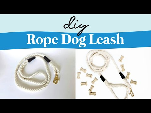 How To Make A Rope Dog Leash