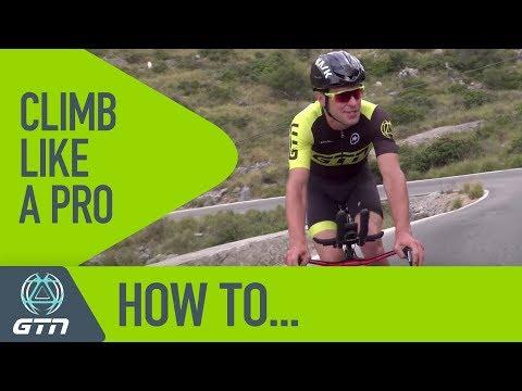 How To Climb On A Triathlon Bike Like A Pro