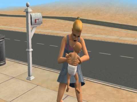 PREGNANT TEEN HAS TWINS (SIMS 2)