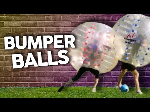 WE PLAYED BUMPER BALL SOCCER (Get Jacked)