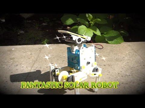 Auto working Solar Robot || Easy to make Solar Robot