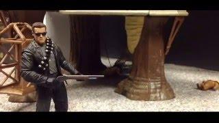 Batman VS Terminator Stop Motion