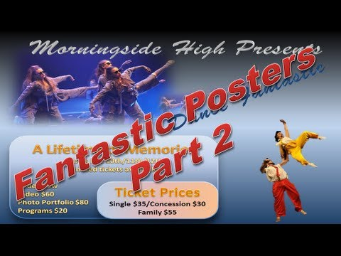 Make Poster - Design a Poster like a Pro in Powerpoint 2010 - Part 2