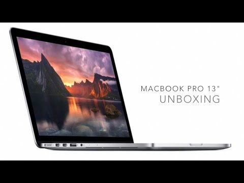 Unboxing: 13-inch MacBook Pro with Retina Display (Early 2015)