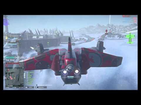 PlanetSide 2 galaxy team play ps4 lets play