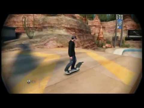How to Frontflip/backflip on skate 3