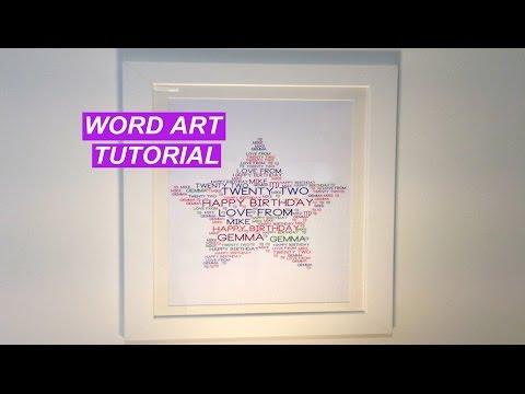 Word Art Tutorial