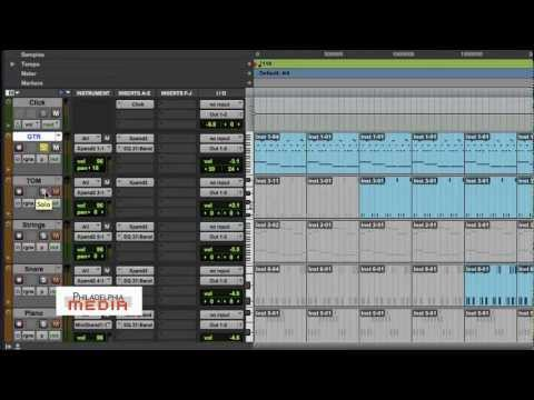 Pro Tools Production Tip - (Panning)